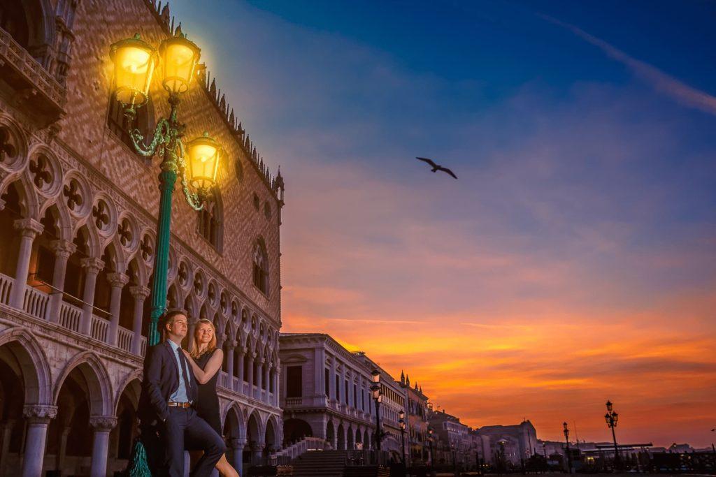 After-Wedding-Shooting - Brautpaar in Venedig