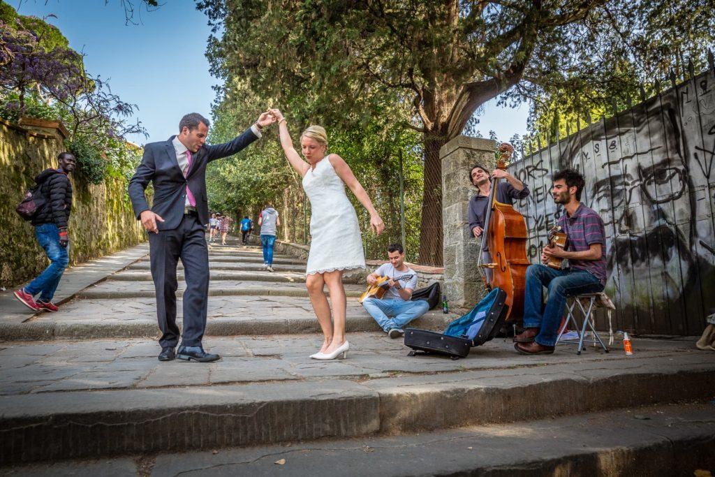 Brautpaar in Florenz